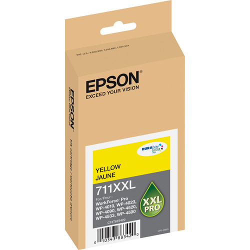 Epson 711XXL Yellow Ink Cartridge