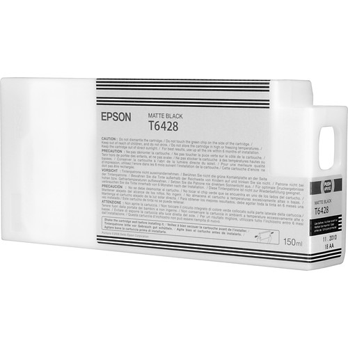 Epson UltraChrome HDR 10-Cartridge Ink Set with Matte Black (150 ml)