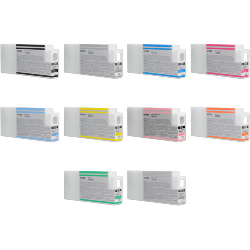 Epson UltraChrome HDR 11-Cartridge Ink Cartridge Set (150 ml)