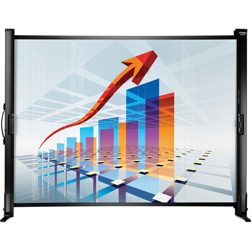 "Epson ES1000 Ultra Portable Tabletop Projection Screen (45.35 x 34.5"")"