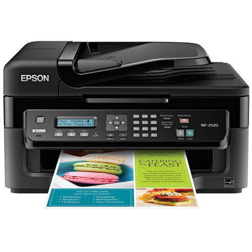 Epson WorkForce WF-2520 Network Color All-In-One Inkjet Printer