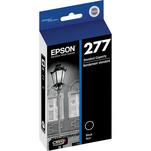 Epson 277 Claria Photo Hi-Definition Ink Cartridge (Black)