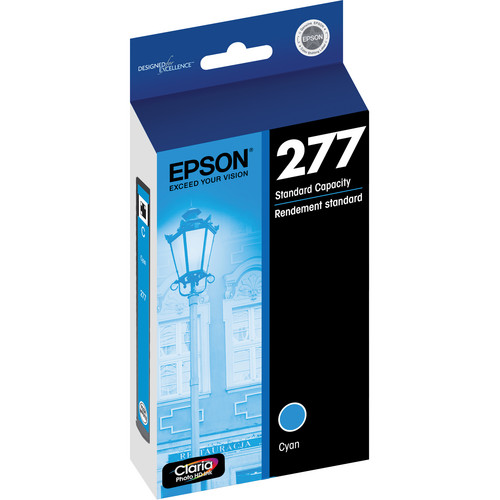 Epson 277 Claria Photo Hi-Definition Ink Cartridge (Cyan)