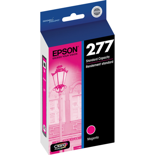 Epson 277 Claria Photo Hi-Definition Ink Cartridge (Magenta)