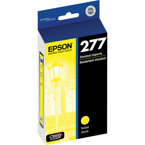 Epson 277 Claria Photo Hi-Definition Ink Cartridge (Yellow)