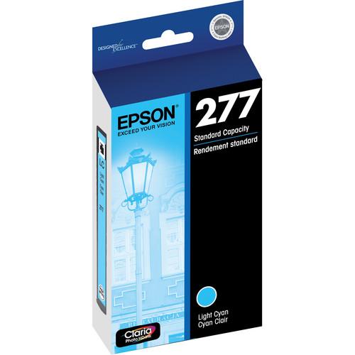 Epson 277 Claria Photo Hi-Definition Ink Cartridge (Light Cyan)