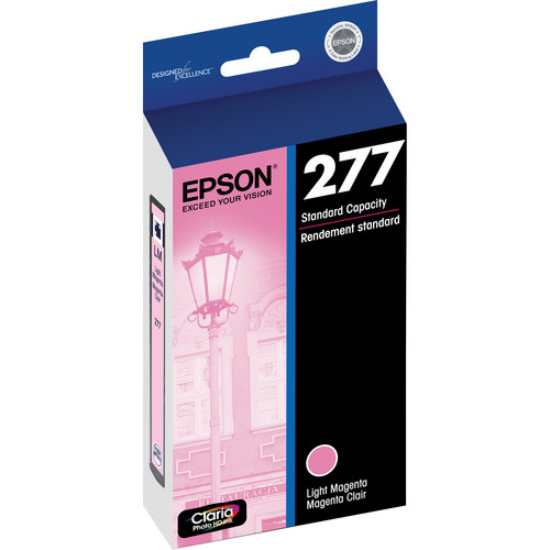 Epson 277 Claria Photo Hi-Definition Ink Cartridge (Light Magenta)