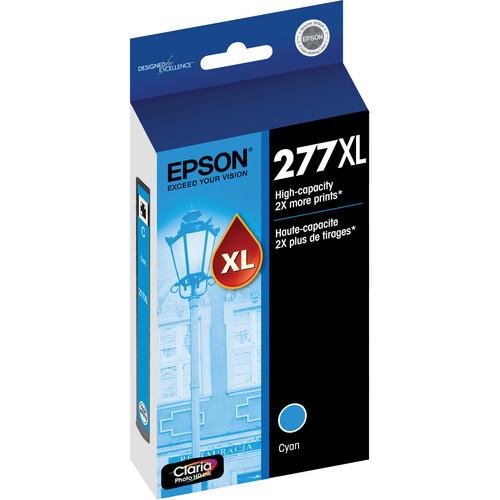 Epson 277XL High-Capacity Cyan Ink Cartridge