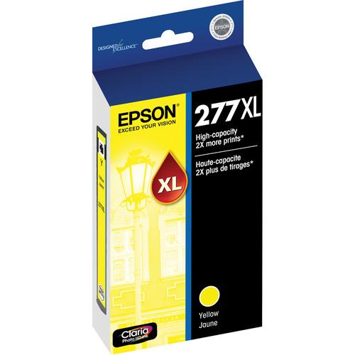 Epson 277XL High-Capacity Yellow Ink Cartridge