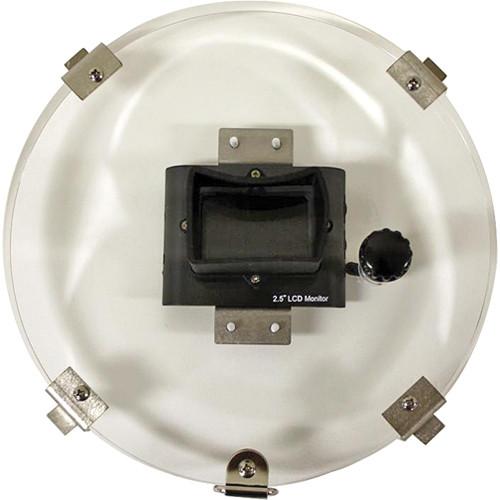 "Equinox 2.5"" LCD 10"" Monitor Back w/ RCA Female Plug"