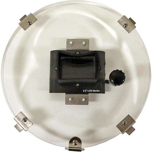 "Equinox 2.5"" LCD 8"" Monitor Back w/ RCA Female Plug"