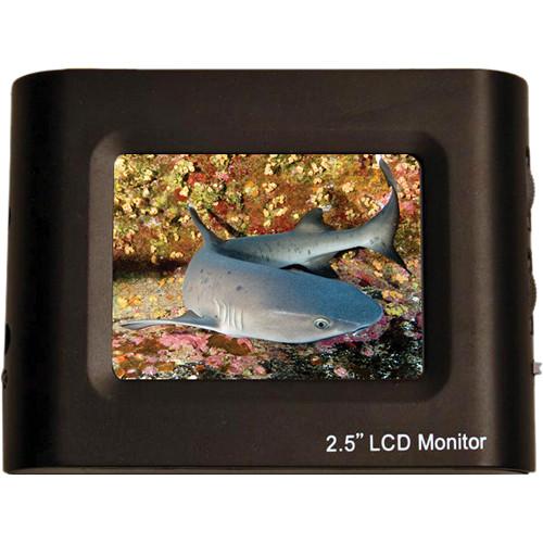 """Equinox 2.5"""" LCD Monitor w/ RCA Female Plug"""