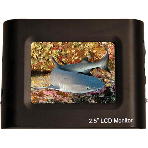"Equinox 2.5"" LCD Monitor w/ RCA Male Plug"