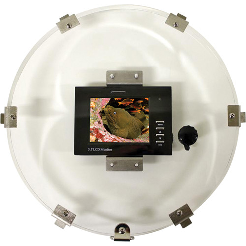 "Equinox 3.5"" LCD 10"" Monitor Back w/ RCA Female Plug"