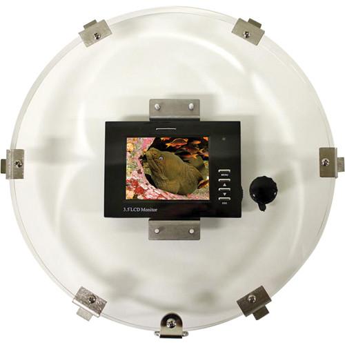 "Equinox 3.5"" LCD 14"" Monitor Back w/ RCA Male Plug"