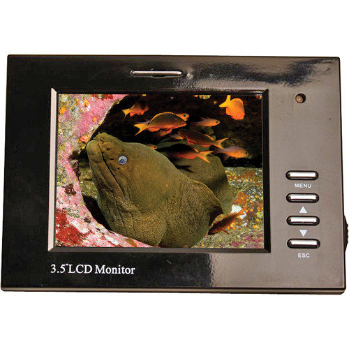 "Equinox 3.5"" LCD Monitor w/ 1/8 Mini Plug"