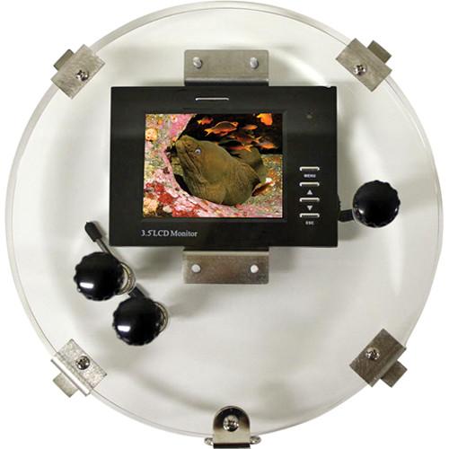 "Equinox 3.5"" LCD 8"" Monitor Back w/ RCA Female Plug"