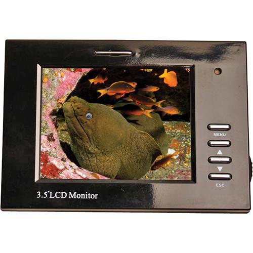 "Equinox 3.5"" LCD Monitor w/ RCA Male Plug"