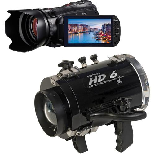 Equinox HD6 Underwater Housing with Canon VIXIA HF G10