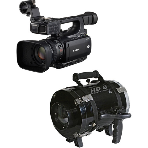 Equinox HD8X Underwater Housing with Canon XF100 HD Professional Camcorder