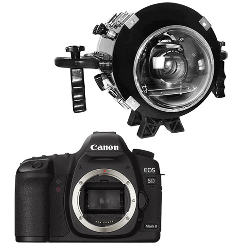Equinox Underwater Housing for Canon EOS 5D Mark II DSLR Camera