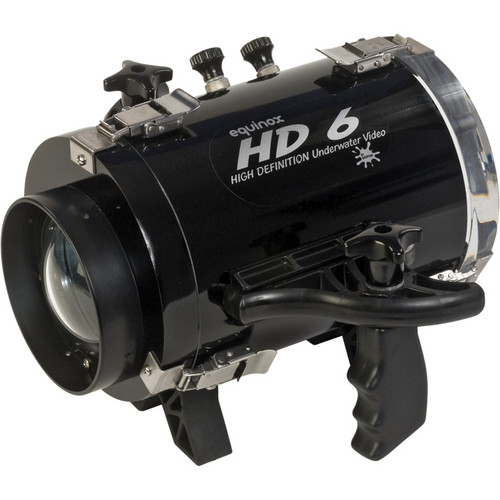 Equinox HD6 High Definition Underwater Video Housing for JVC GY-HMQ10 Camcorder