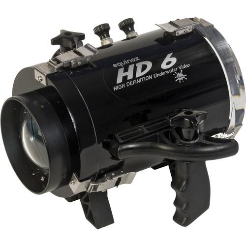 Equinox HD6 High Definition Underwater Video Housing for JVC GZ-VX700 Camcorder