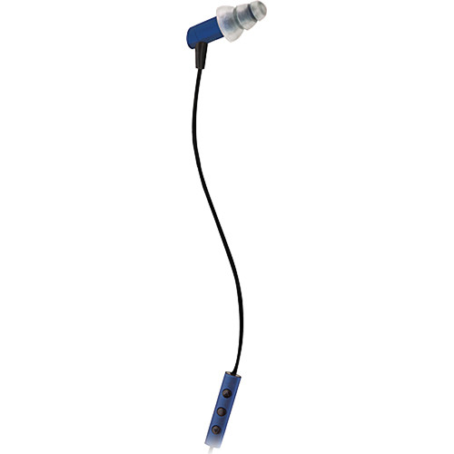 Etymotic Research hf3 Noise-Isolating In-Ear Stereo Headphones with Mic (Cobalt)
