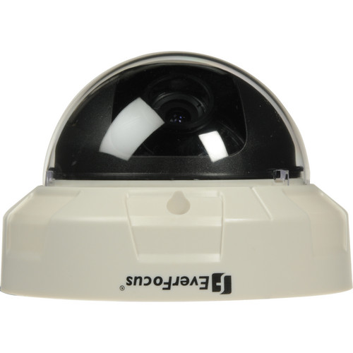 EverFocus 3-Axis Indoor Color Dome Camera