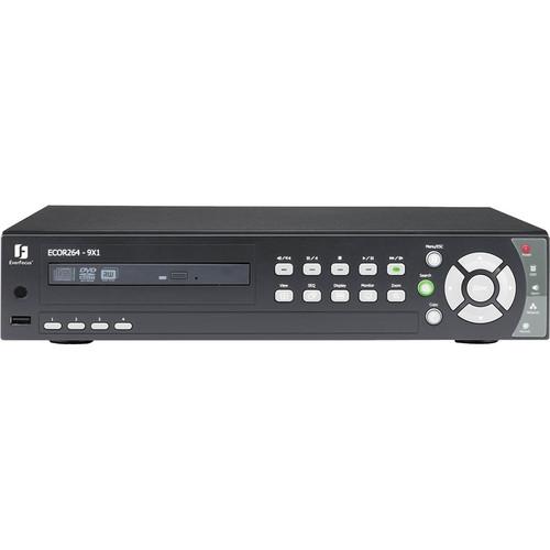 EverFocus ECOR264 4 CH H.264 DVR with GUI Menu (1TB)