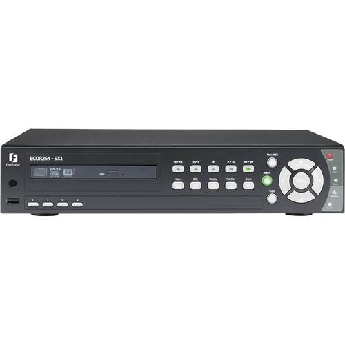 EverFocus ECOR264 4 CH H.264 DVR with GUI Menu (2TB)