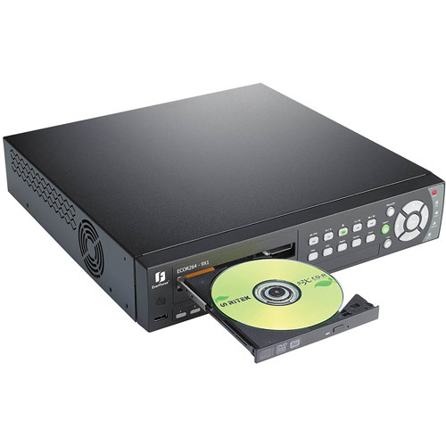 EverFocus ECOR264X1 Network DVR with DVD Burner (9-Channel, 500GB)