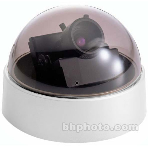 EverFocus ED300/NW 520 TVL Color Mini Dome w/Simple Day/Night (White Base)