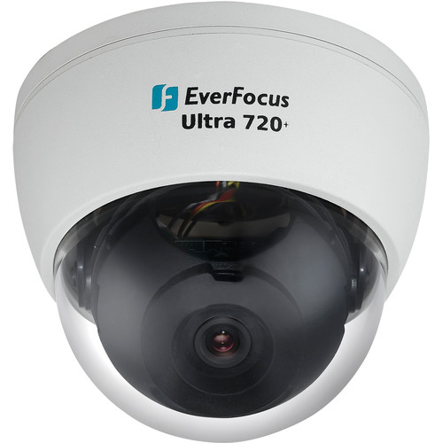 EverFocus Ultra Series Indoor Day / Night Mini Dome Camera (White)