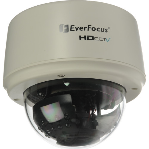 EverFocus 3-Axis Indoor IR Color Dome Camera