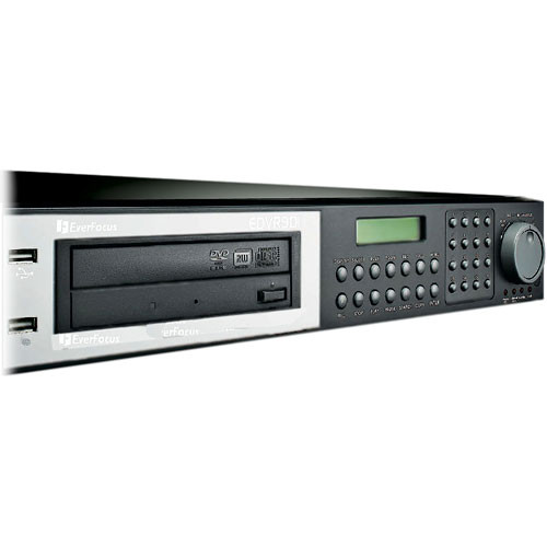 EverFocus EDVR16D1/500 16-Channel 500GB Digital Video Recorder