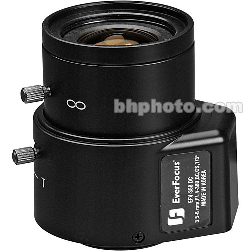 EverFocus EFV-358-DC Varifocal CS-Mount Lens