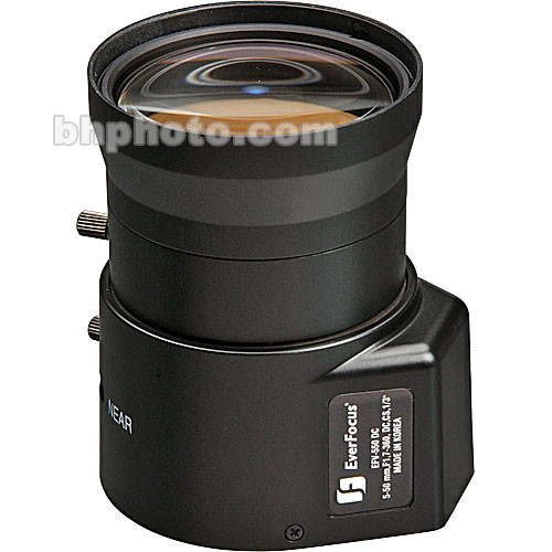 EverFocus EFV-550-DC Varifocal CS-Mount Lens
