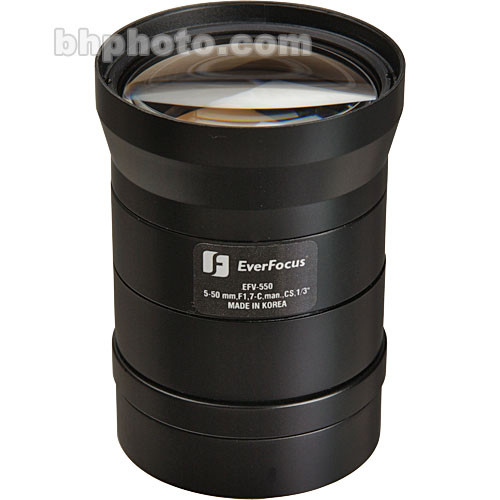 EverFocus EFV-515 Varifocal CS-Mount Lens