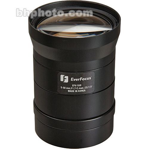 EverFocus EFV-515 Varifocal CS-Mount Lens