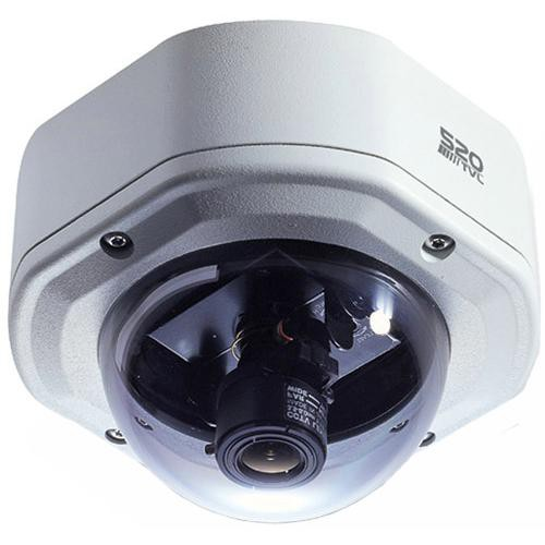 EverFocus EHD300/N-3 520 TVL Outdoor Color Vandal Dome Camera