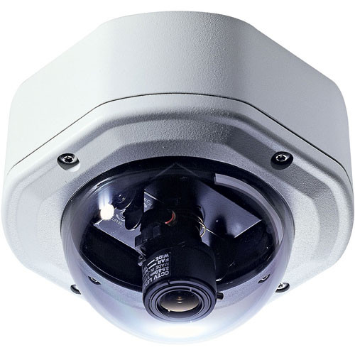 EverFocus EHD525/EX-2 Day/Night Rugged Dome Camera with 9-22mm Varifocal IR  Lens