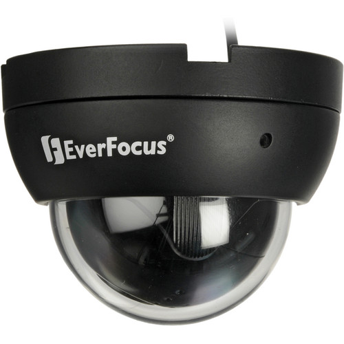 EverFocus Ultra 720+ TVL Outdoor Mini Vandal/Mobile Dome (Black)
