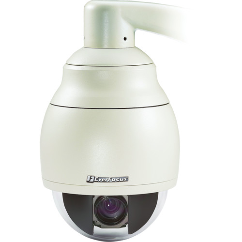 EverFocus 520 TVL Outdoor PTZ Camera with Wide Dynamic Range and True Day/Night