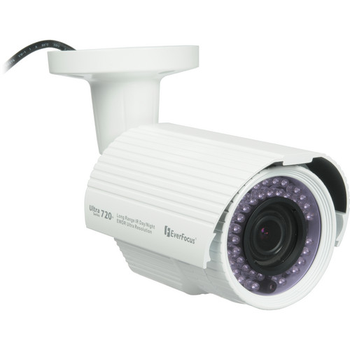 EverFocus EZ750W Outdoor True Day/Night Bullet Camera (White, NTSC)