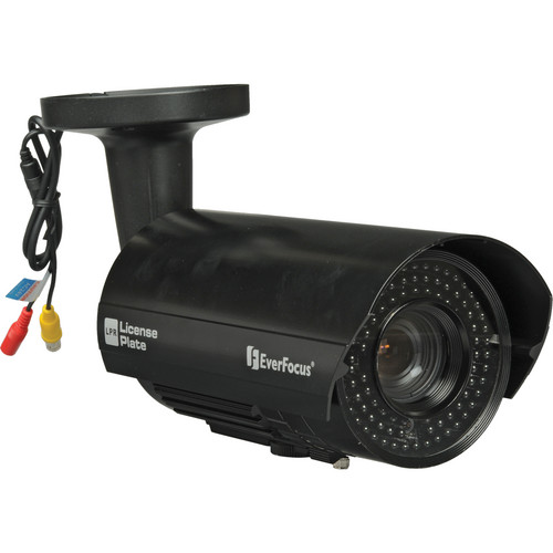 EverFocus EZ-PlateCam2 Bullet Style License Plate Camera