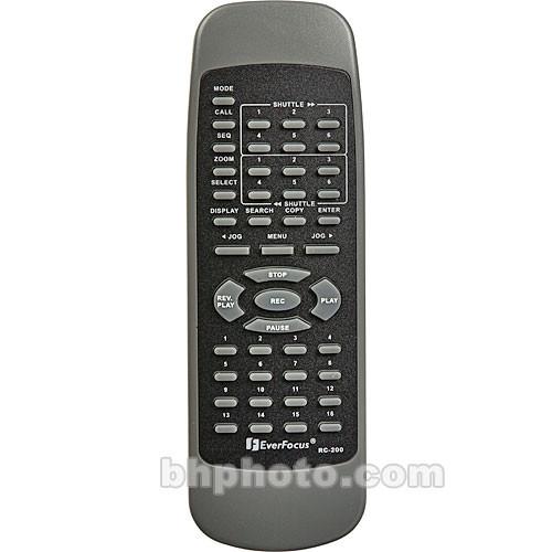EverFocus EVRE916 IR Remote Control