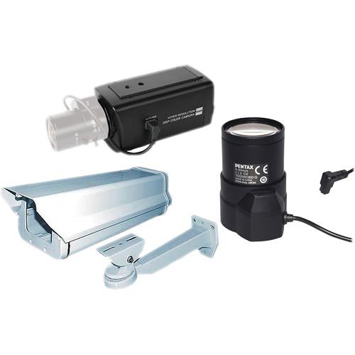 EverFocus Ultra Series Super Low Light Box Camera B&H Kit