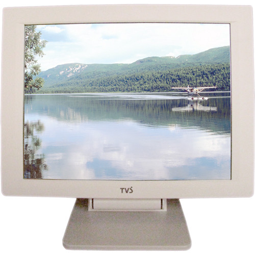 "Eversun Technologies LP-12E02 12.1"" LCD POS Monitor with Elo Touchscreen (White)"