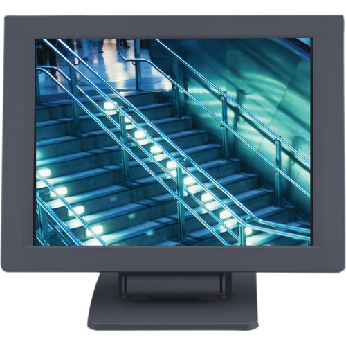 "Eversun Technologies LP-12E02 12.1"" LCD POS Monitor with Elo Touchscreen (Black)"